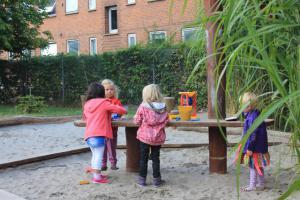 Legepladsen i børnehave Rumlepotten